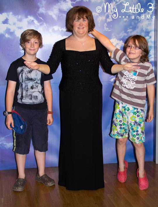 Susan-Boyle-A review of our Blackpool holiday from My Little 3 and Me