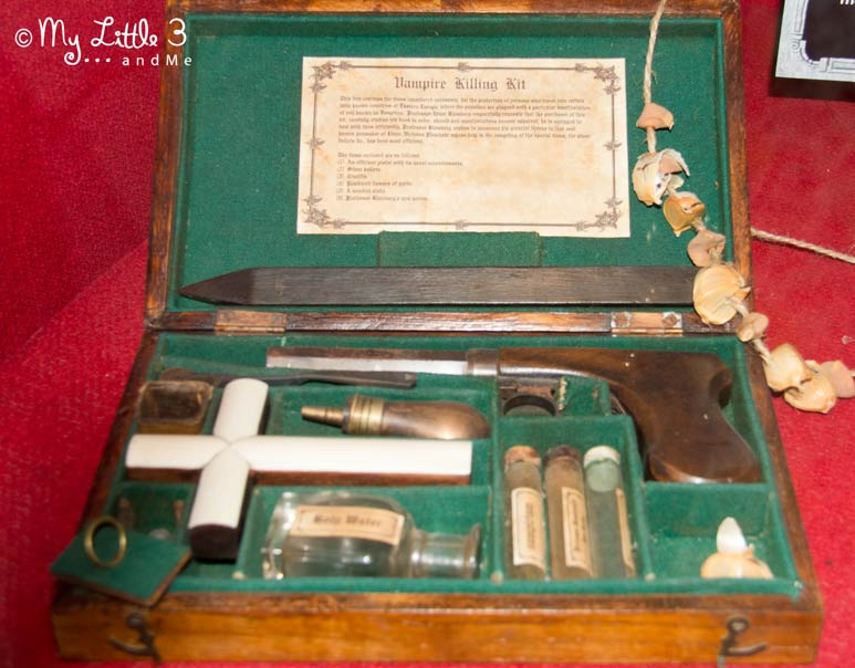 Vampire-Killing-Kit-Ripley's- A review of our Blackpool holiday from My Little 3 and Me