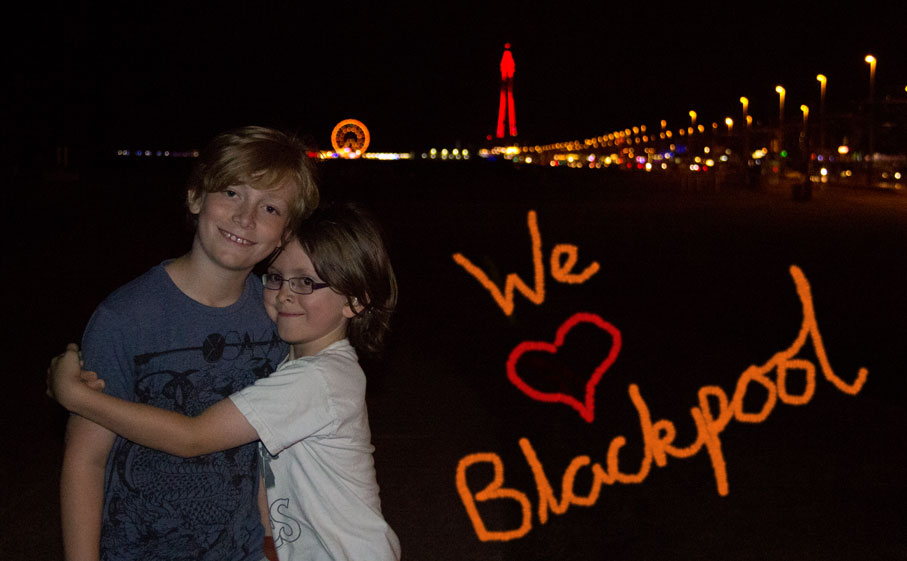 We-Love-Blackpool- A review of our Blackpool holiday from My Little 3 and Me