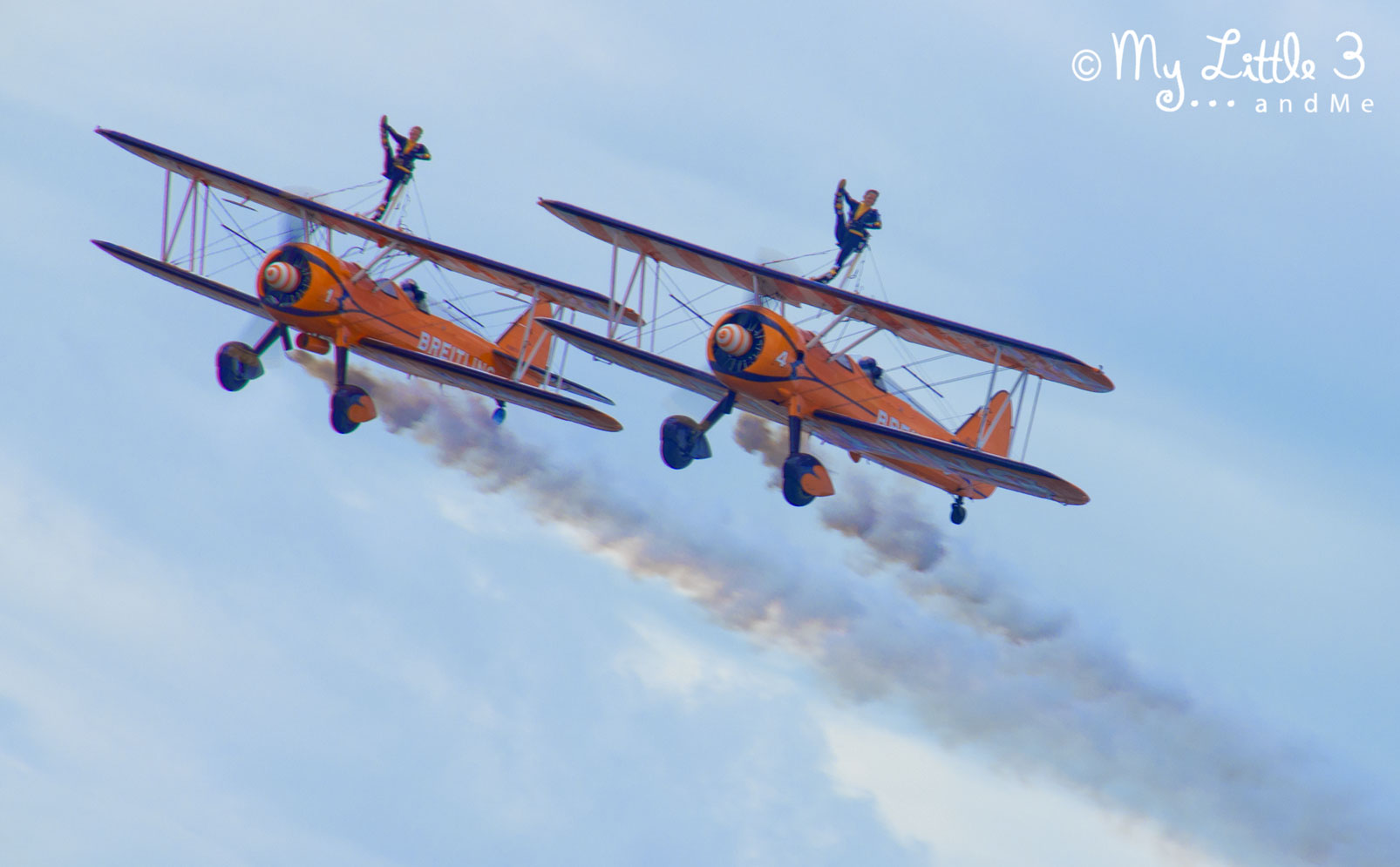 Wing-Walkers-At-Blackpool-Airshow-A review of our Blackpool holiday from My Little 3 and Me