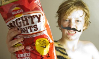 Walkers Mighty Light Crisps Review from My Little 3 and Me