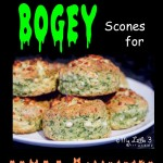 Mouldy Bogey Scones For Healthy Halloween Fun