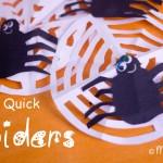 Quick Spider Decorations
