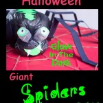 Halloween Spider Craft – Giant Glow In The Dark Spooky Fun