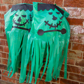 Make fun GIANT Frankensteins for Halloween. From My Little 3 and me