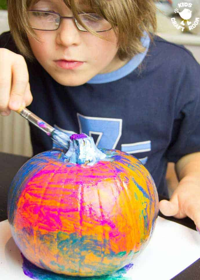 Pumpkin Painting Is A Halloween Craft For The Whole Family Painted Pumpkins Are An Easy