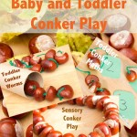 Baby and Toddler Conker Play