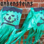 Giant Homemade Halloween Decorations – Frankensteins