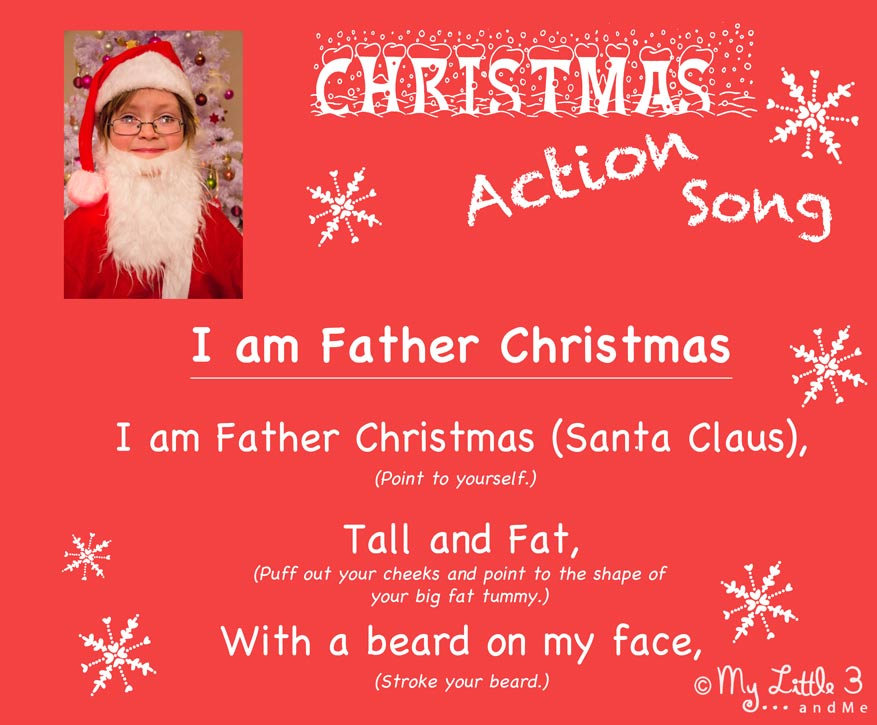 Christmas song for kids i am santa claus kids craft room