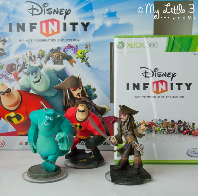 Win a Disney Infinity Starter Pack via My Little 3 and Me