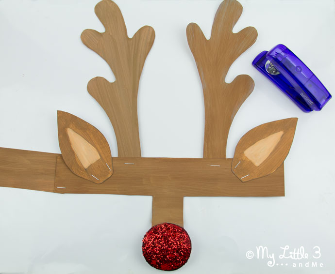 Printable Reindeer Antlers to Colour and Wear. - Kids Craft Room