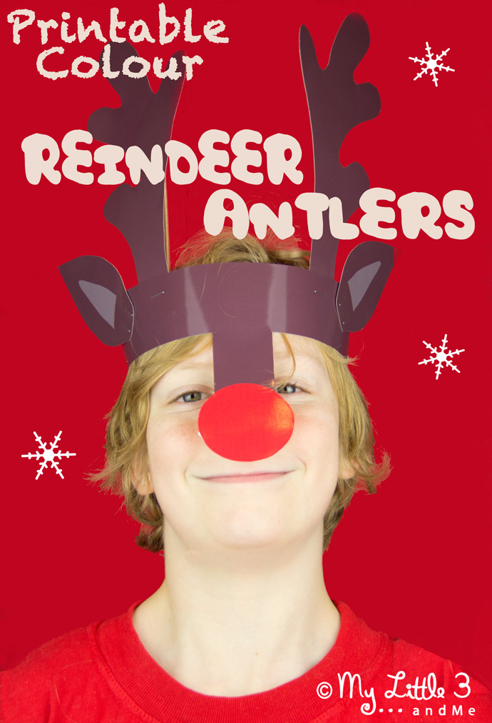 We think these Reindeer Antlers Christmas Headbands are just adorable ...