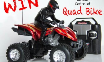 Win a remote controlled quad bike via My Little 3 and Me