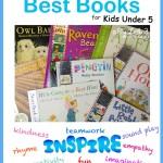 Best Books For Kids Under 5