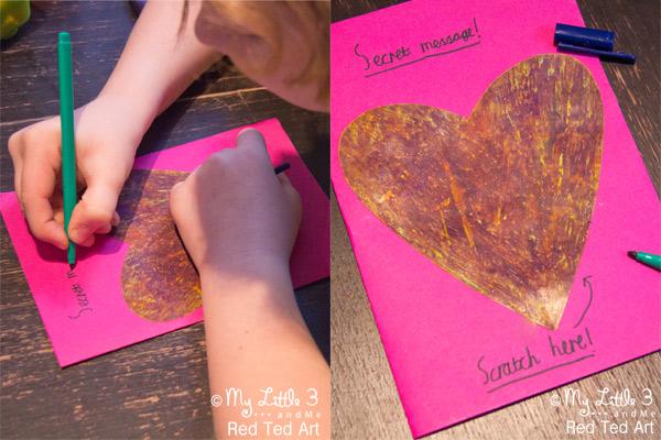 Secret Message Valentine S Day Cards Kids Craft Room