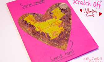 Secret Message Valentine's Day Card