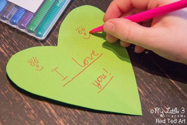 Secret Message Valentines Day Cards Kids Craft Room – Messages to Write in Valentines Cards