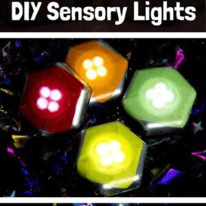 Homemade Sensory Play Lights
