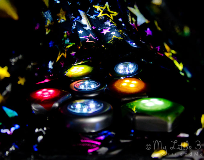 Easy Sensory Play Lights and Play Ideas from My Little 3 and Me