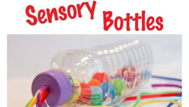 RAINBOW SENSORY BOTTLES A bright and colourful sensory play activity and a musical instrument too. Great fun for all ages