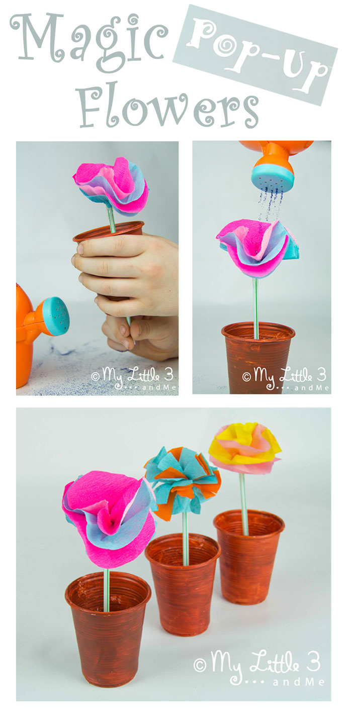 Magic Pop Up Flowers, an interactive Mary Mary Quite Contrary Nursery Rhyme Craft