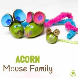 Adorable Acorn Mice