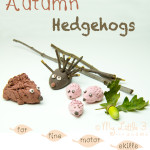 Autumn Crafts – Cute Hedgehogs
