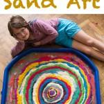 Rangoli Inspired Sand Art