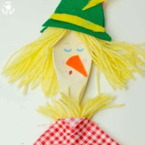 Dingle Dangle Scarecrow Puppet