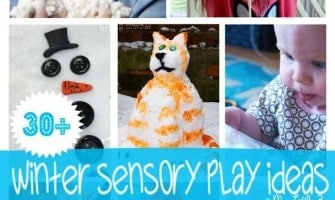 30+ Winter Sensory Play Ideas