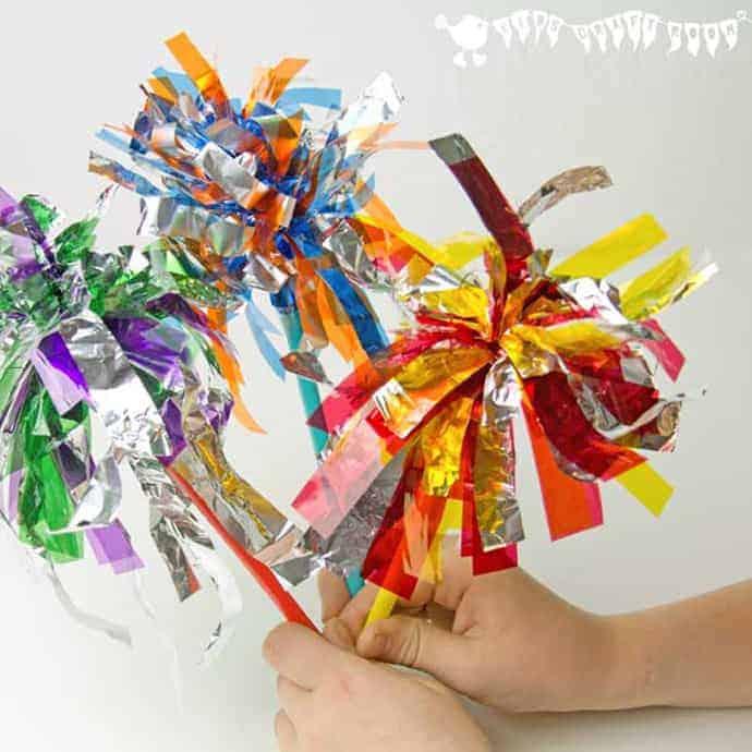 Sparkler Firework Craft For Kids Kids Craft Room