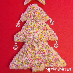 Christmas Fairy Bread a quick and easy Christmas recipe for kids. A fun Christmas activity for kids and the whole family to enjoy together.