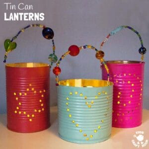 Homemade Gifts – Tin Can Lanterns