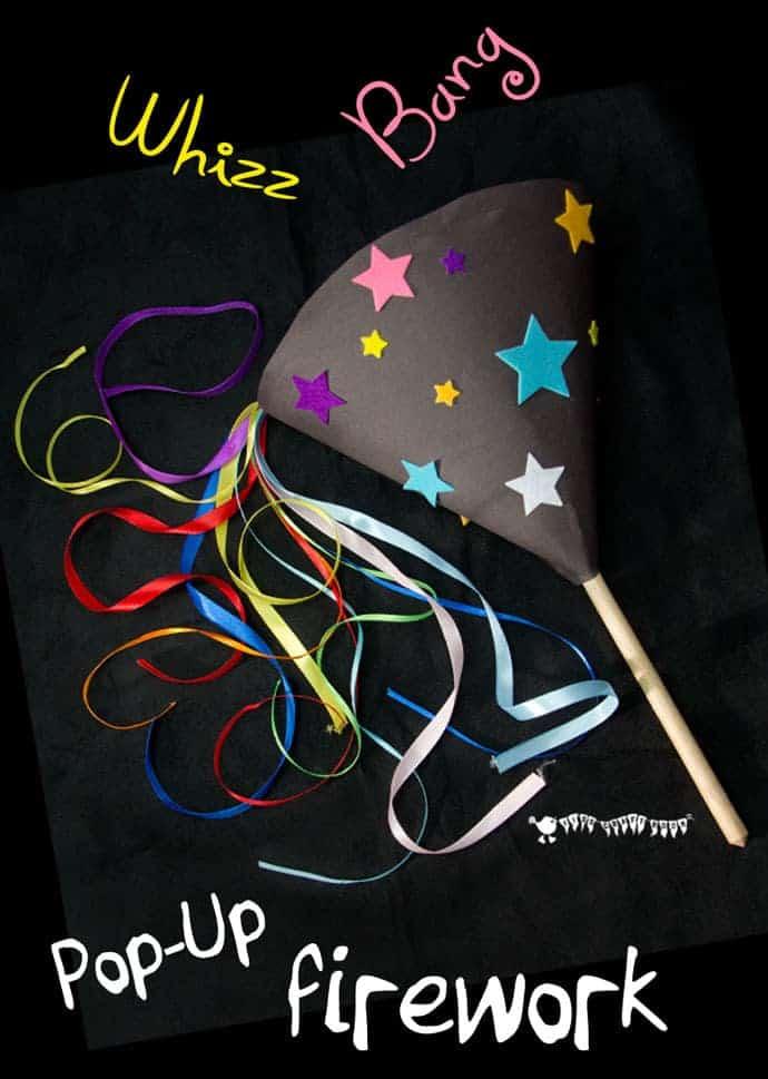 Pop Up Homemade Firework Craft Kids Craft Room