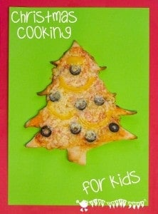 Cooking With Kids – Christmas Tree Pizza