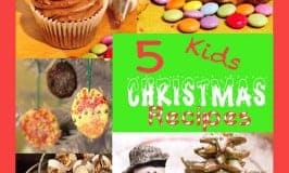 5 favourite Kids Christmas Recipes. Get the kiddies into the kitchen for some tasty Christmas fun.