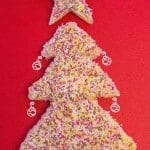 Festive Fairy Bread a super quick, fun and easy addition to your Christmas recipes for kids.