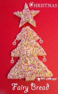 Christmas Recipes For Kids – Festive Fairy Bread