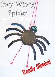 Climbing Incy Wincy Spider (Itsy Bitsy Spider)