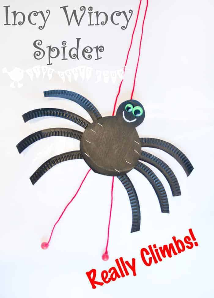 Climbing Incy Wincy Spider Itsy Bitsy Spider Kids Craft Room