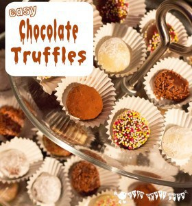 Easy Chocolate Truffles For Kids