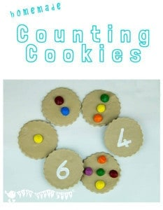Home Made Counting Cookies