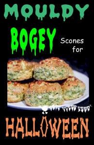 Mouldy Bogey Scones For Healthy Halloween Fun