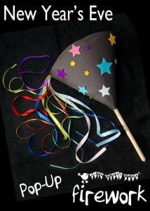 Pop-Up Homemade Firework Craft