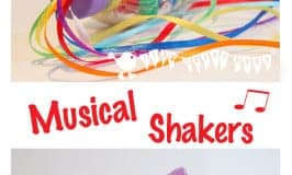 Sensory Play – Rainbow Bottles/Music Shakers