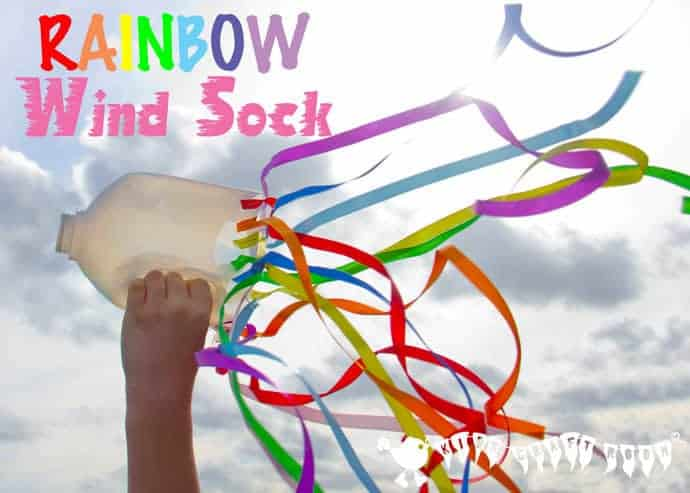 Make your own windsocks. A fun and colourful craft to inspire physical movement and self expression.