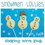 Snowman Popsicles