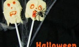 Spooky Ghost Lollies – Halloween Food For Kids