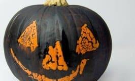 Wax Resist Pumpkins - A Kid Friendly Pumpkin Carving Alternative For Halloween
