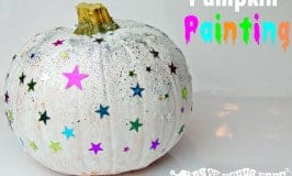 Have fun Pumpkin Painting this Halloween. The perfect safe and easy alternative to pumpkin carving for children.